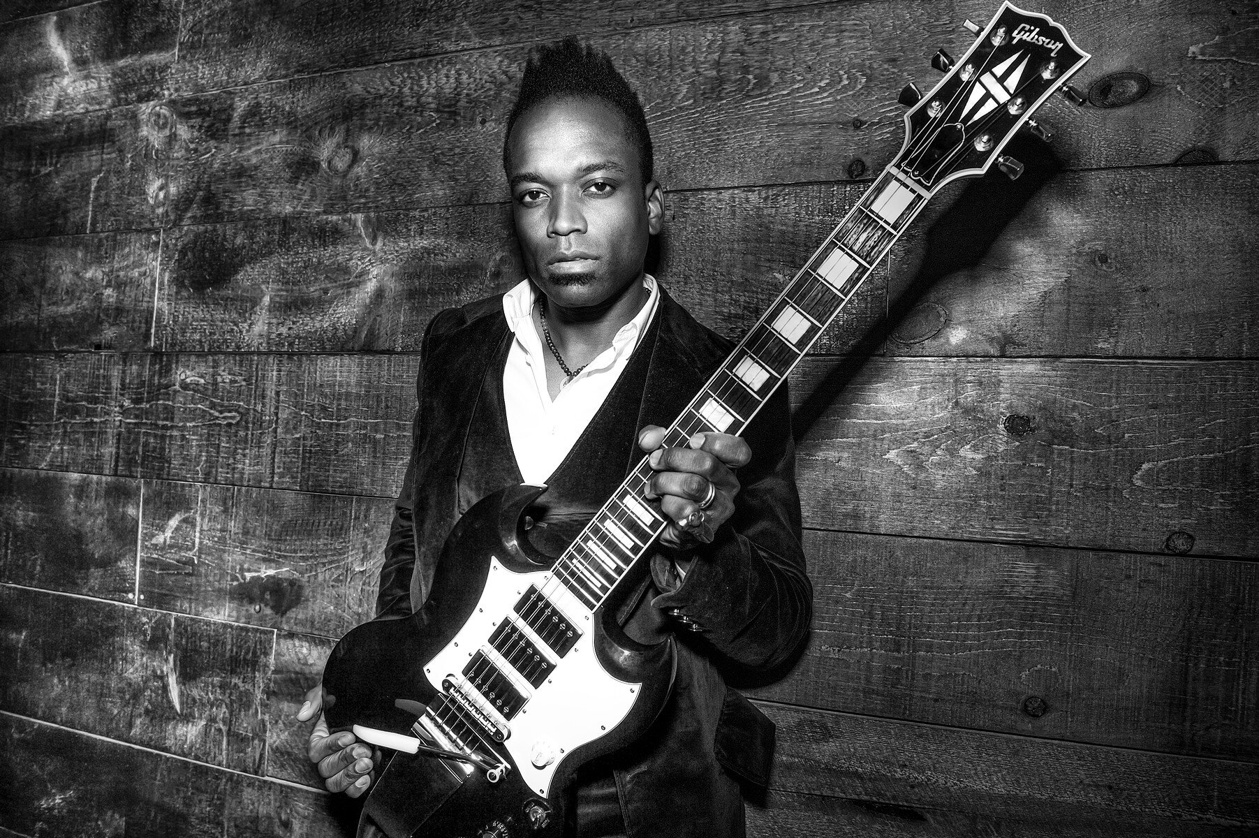 Honoring guitarist  Captain Kirk Douglas  from The Roots as featured on The Tonight Show with Jimmy Fallon.