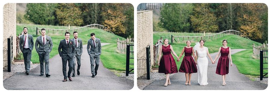Kingscote Barn Wedding Alison & Stuart (12)