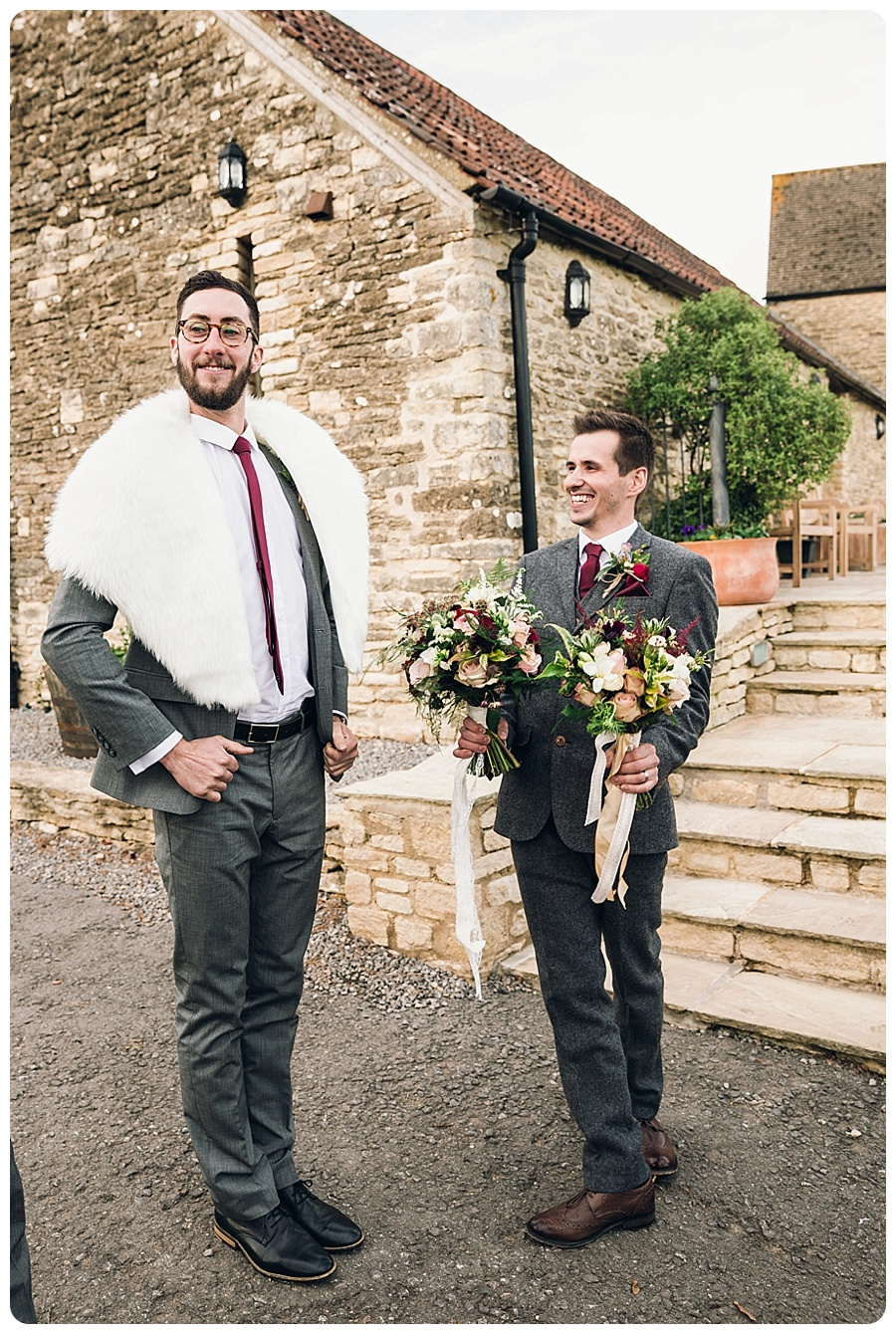Kingscote Barn Wedding Alison & Stuart (11)