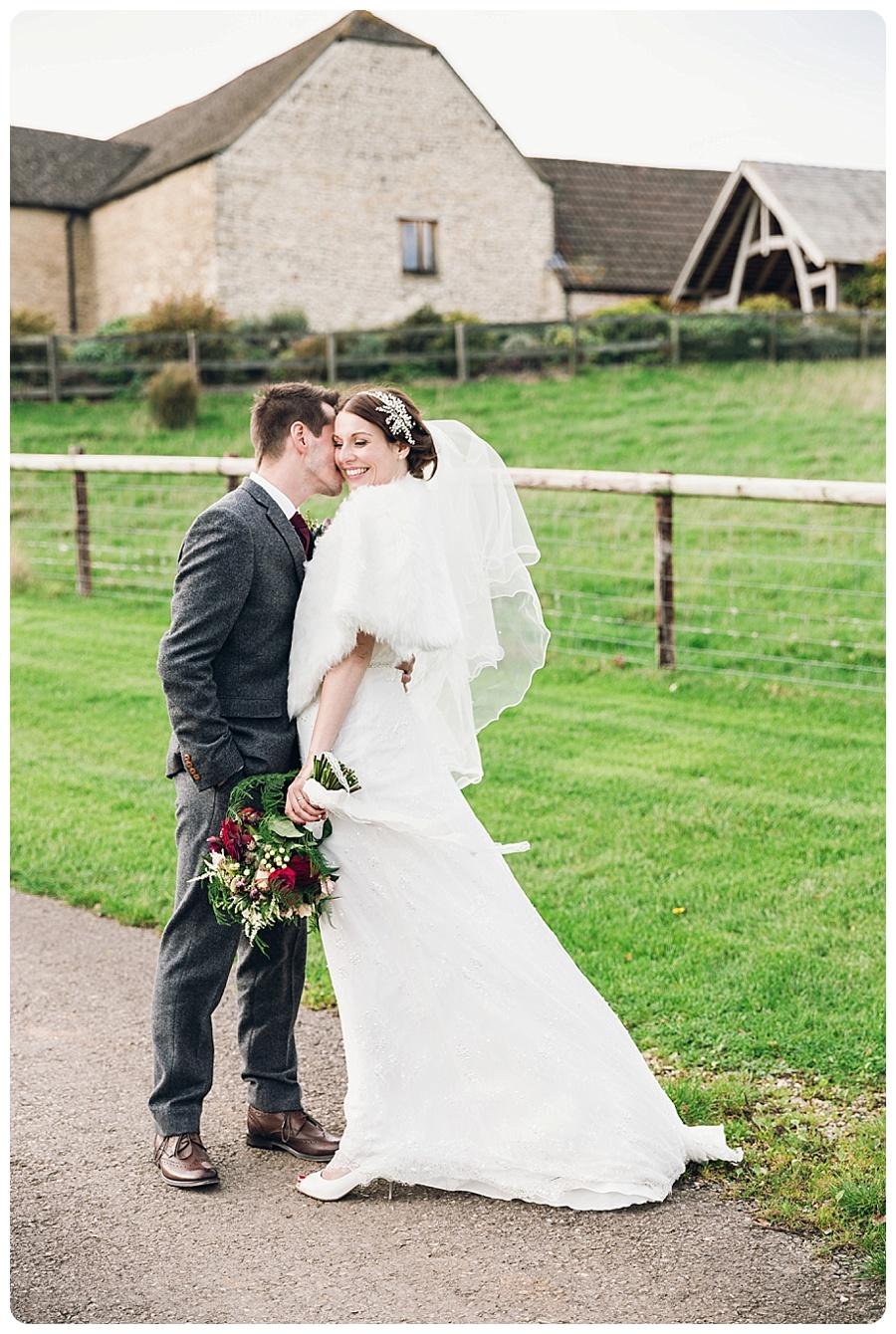 Kingscote Barn Wedding Alison & Stuart (9)