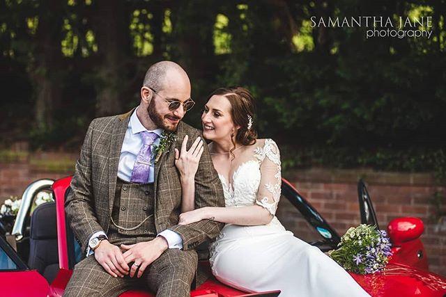 Loved today's wedding at #themillbarns  Sarin & Louis, totally rocking it!  #barnvenues #ensarbdreamteam #relaxedwedding #funwedding #weddingcar #brideandgroomportraits #weddingideas #westmidlandsweddingphotographer  Make up by @jessicaavamakeup
