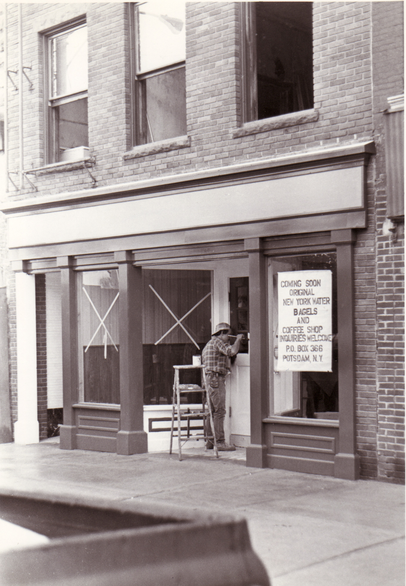 Our Original Location, 1982: St. Lawrence County's oldest Bagel and Coffee Shop