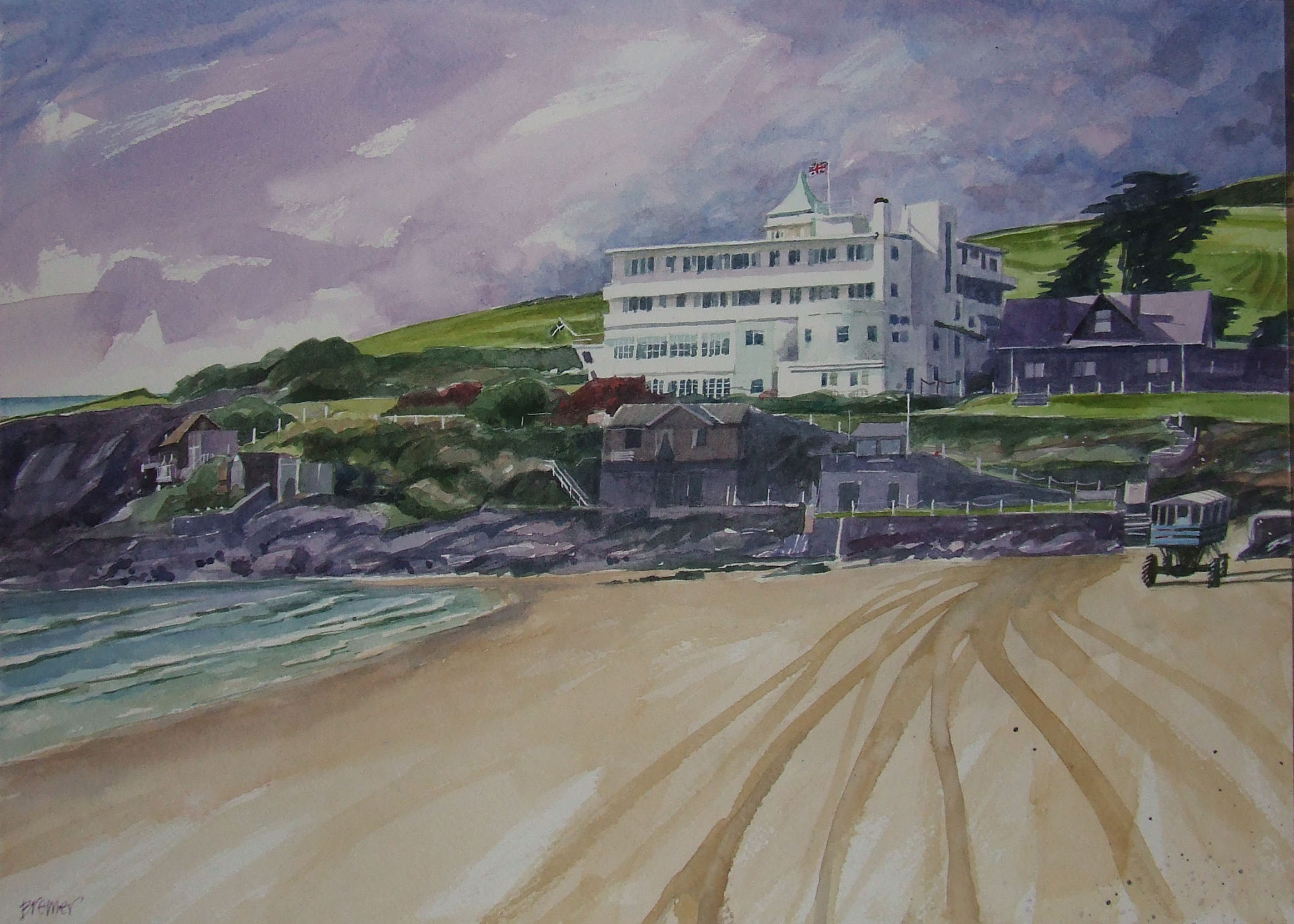 Burgh Island Hotel I