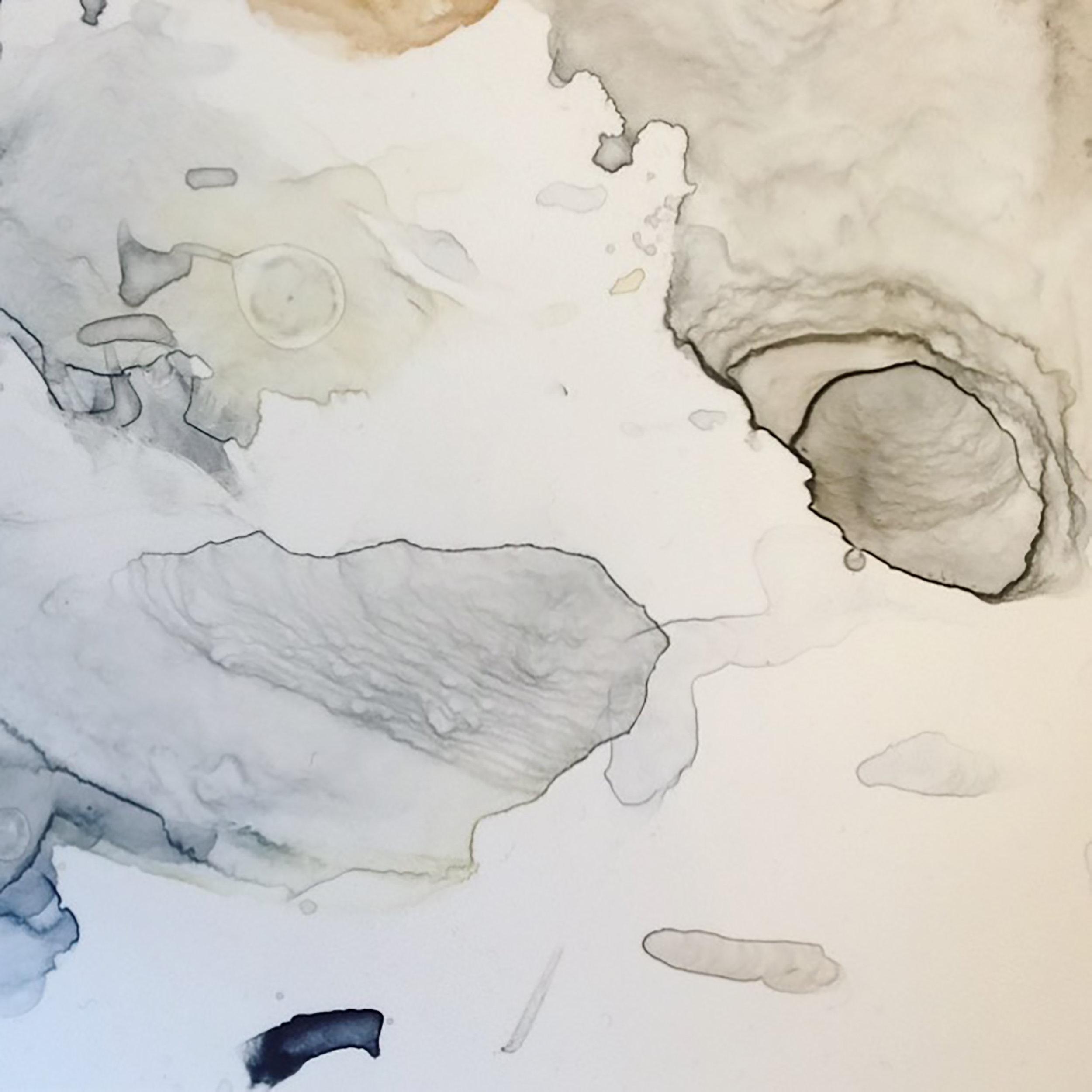 Watercolour mixing. Photo by Lindsay McDonagh