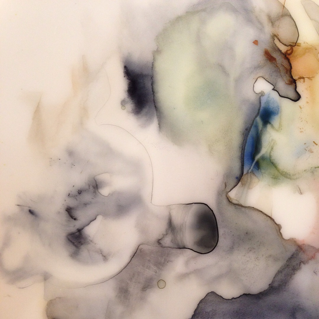 Lindsay McDonagh Watercolour mixing plate