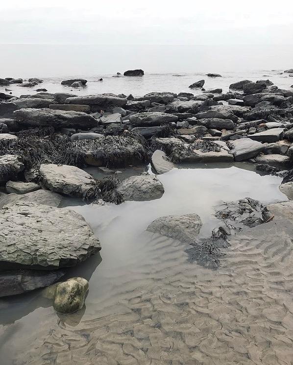 grey beach Lindsay McDonagh