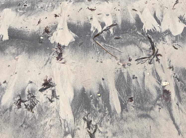 sand pattern Lindsay McDonagh