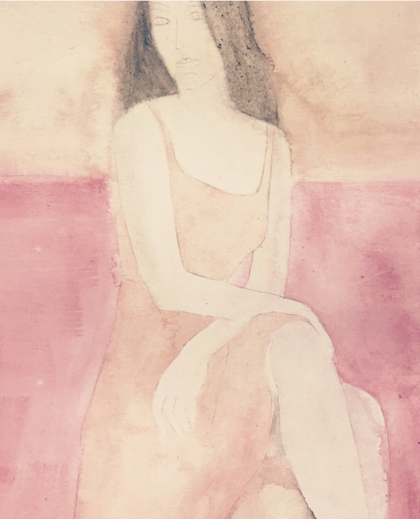 Girl in Pink by Lindsay McDonagh