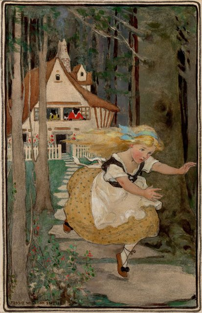 Jessie Wilcox Smith, Goldilocks and the Three Bears