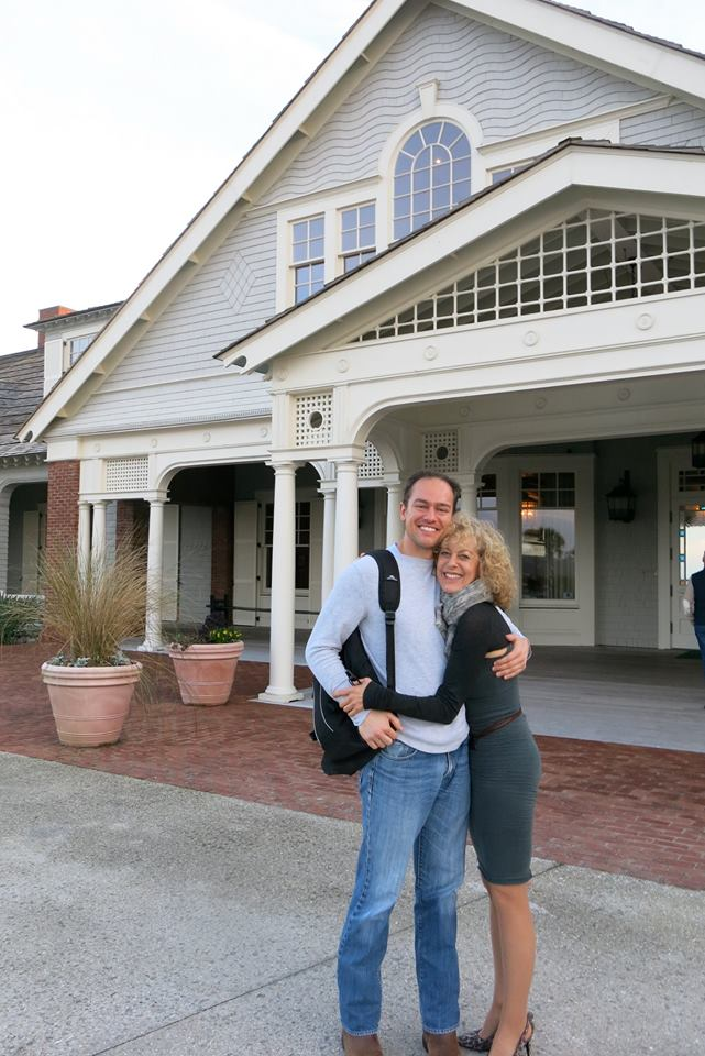 Production engineer Kurt Heidolph and Judy
