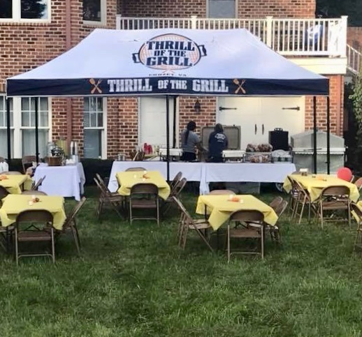 Grilling at a Private Event!