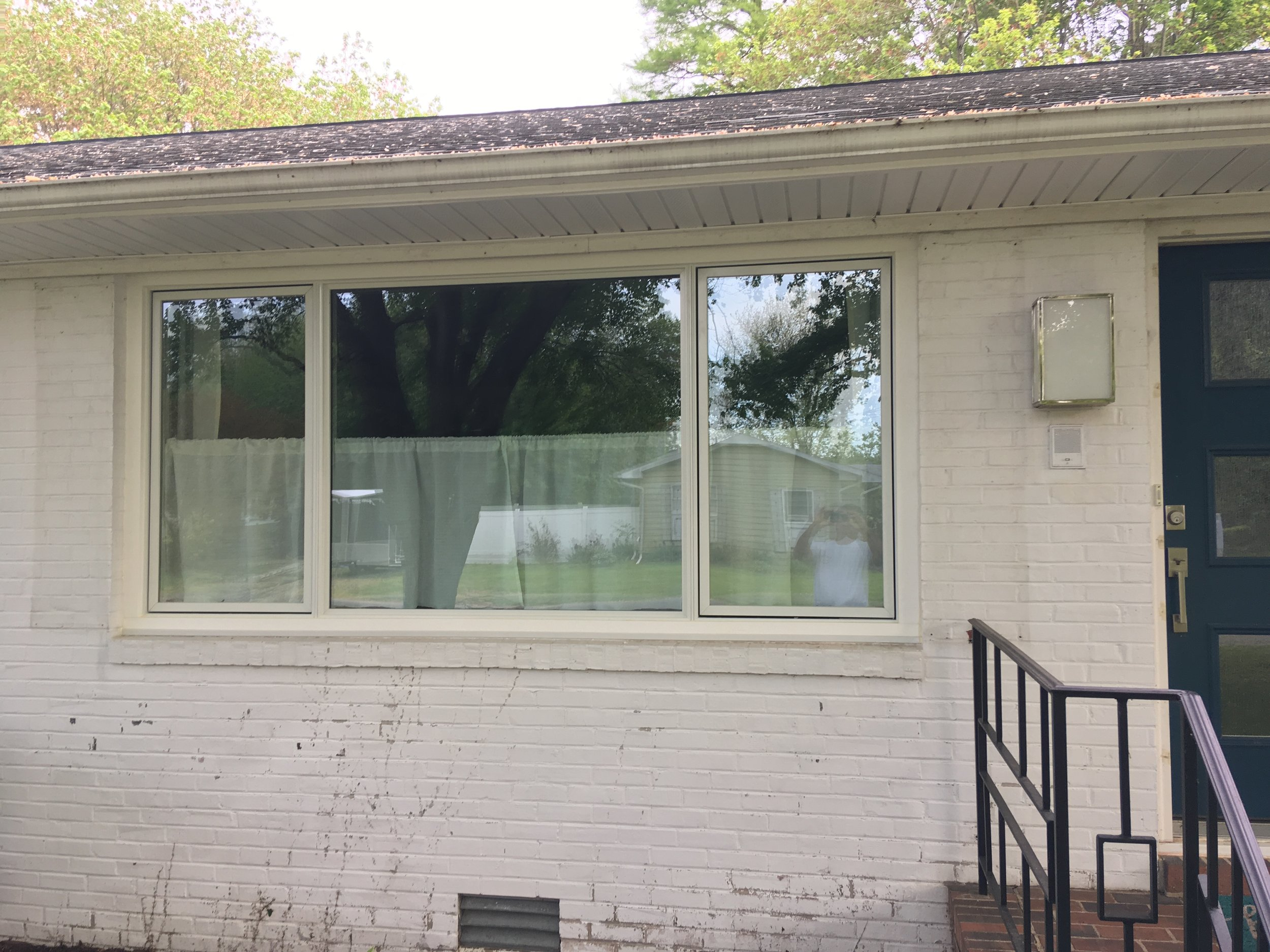 A new Pella replacement window with insulated Low E glass.