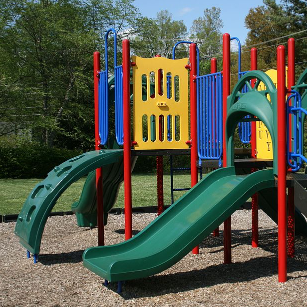Seventy-five percent  of playground injuries take place on public playgrounds.