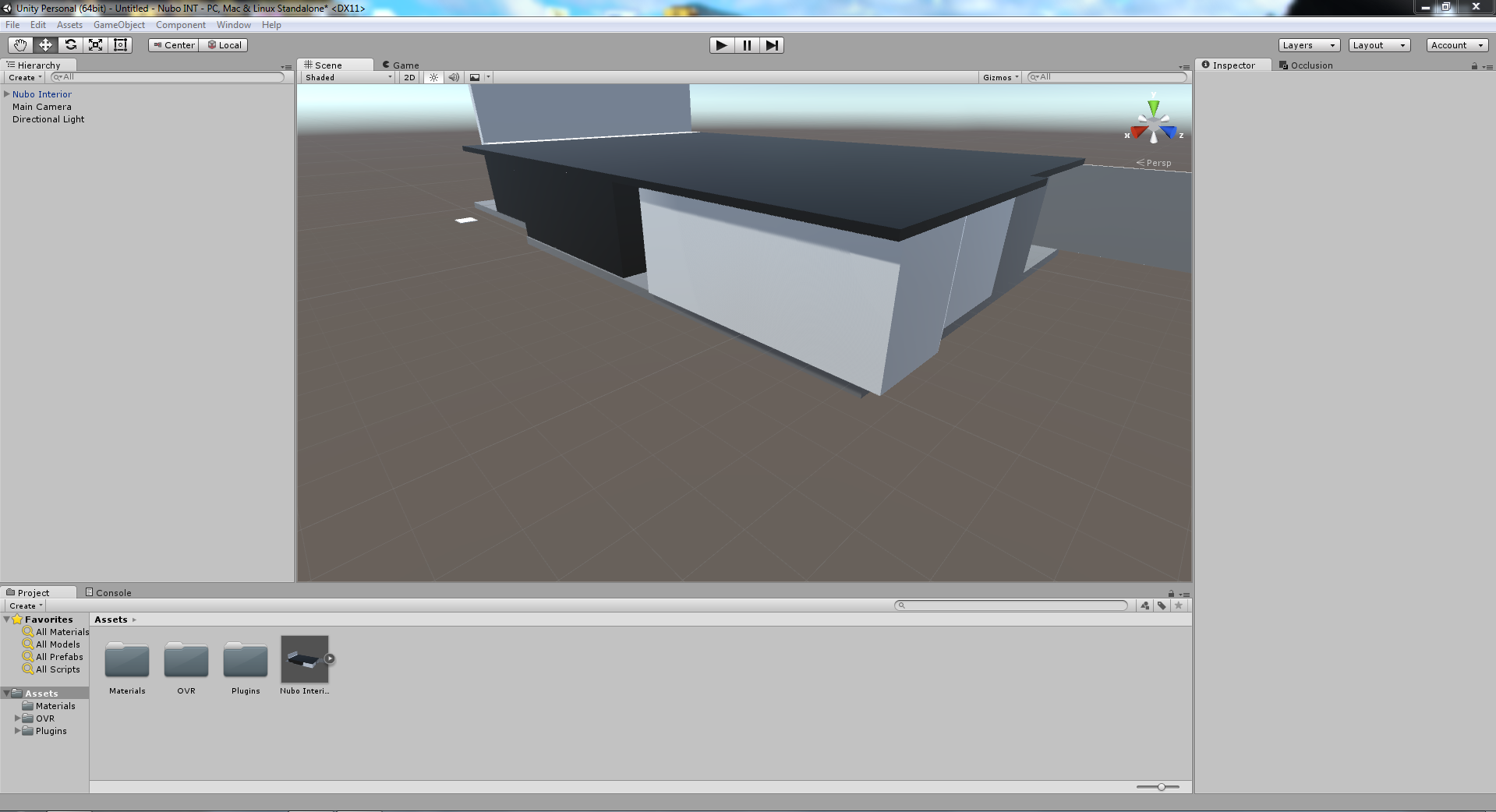Virtual Reality Know-How: Bringing a Sketchup Model Into the