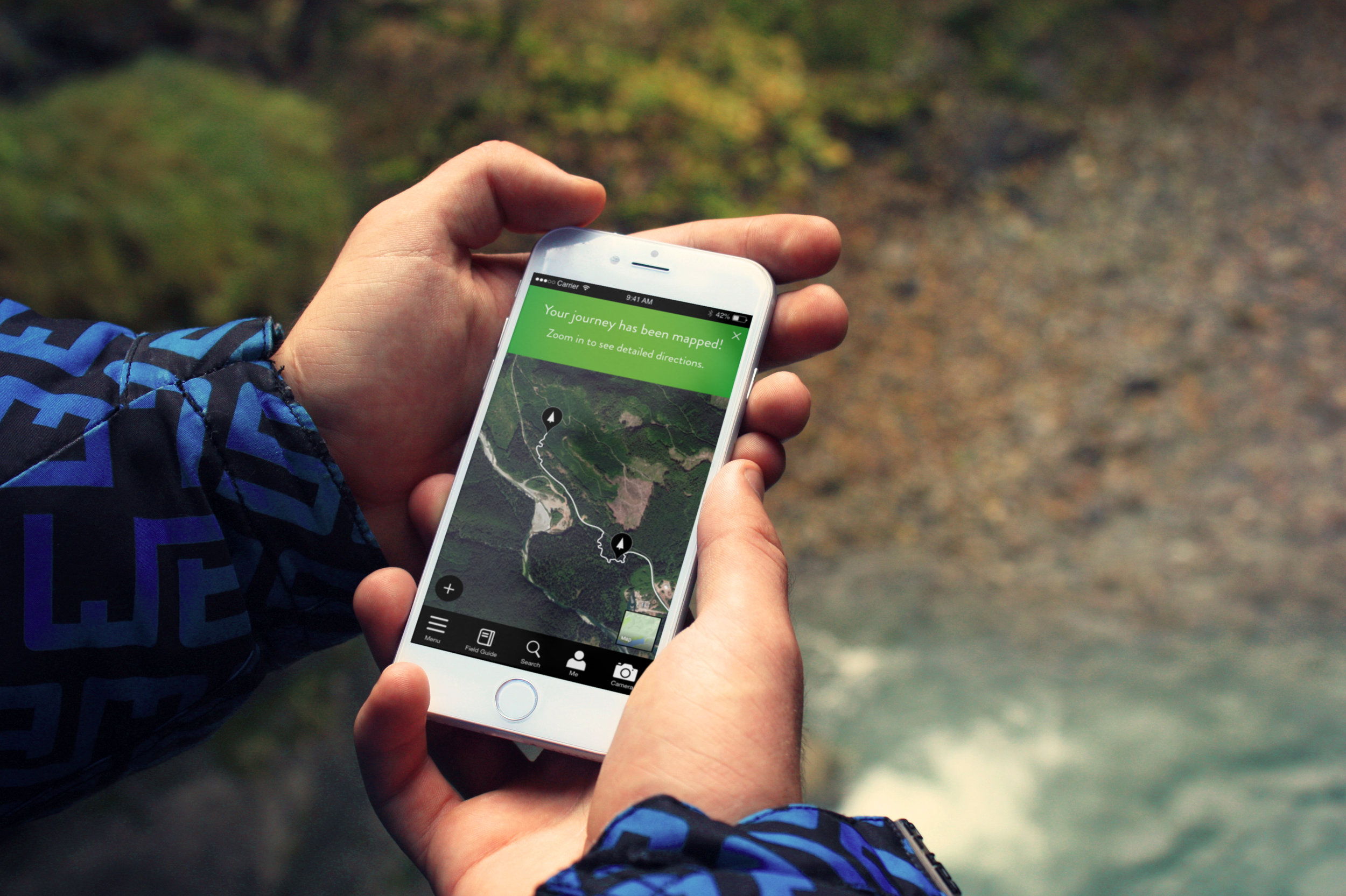 The Big Tree app allows users to identify, locate and visit the largest and oldest trees in BC, collecting points and learning about the ancient beauties along the way.