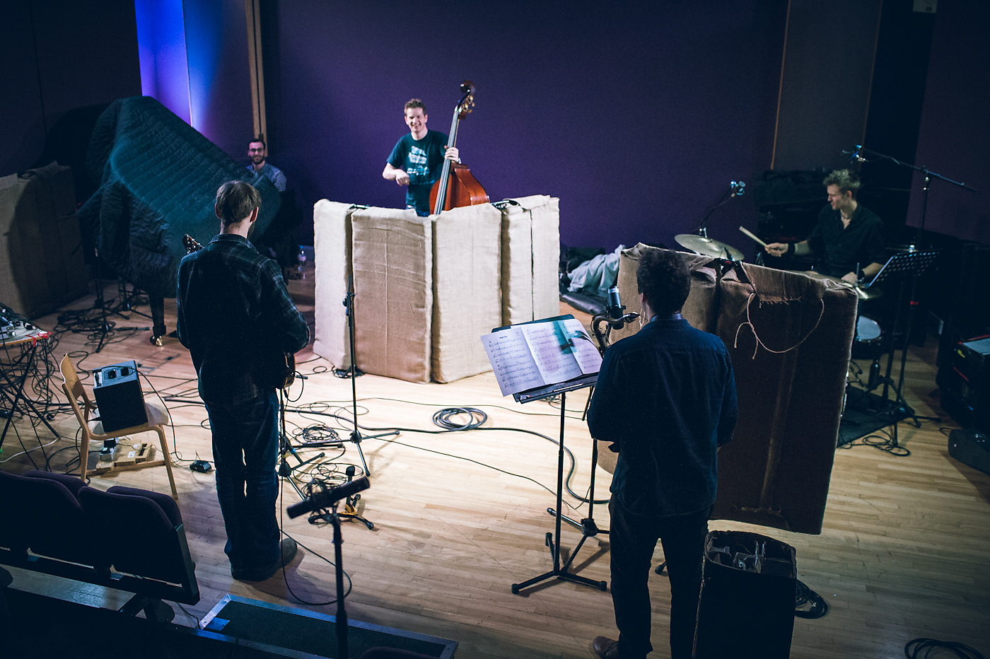 Kasseldown Quintet Album Recording