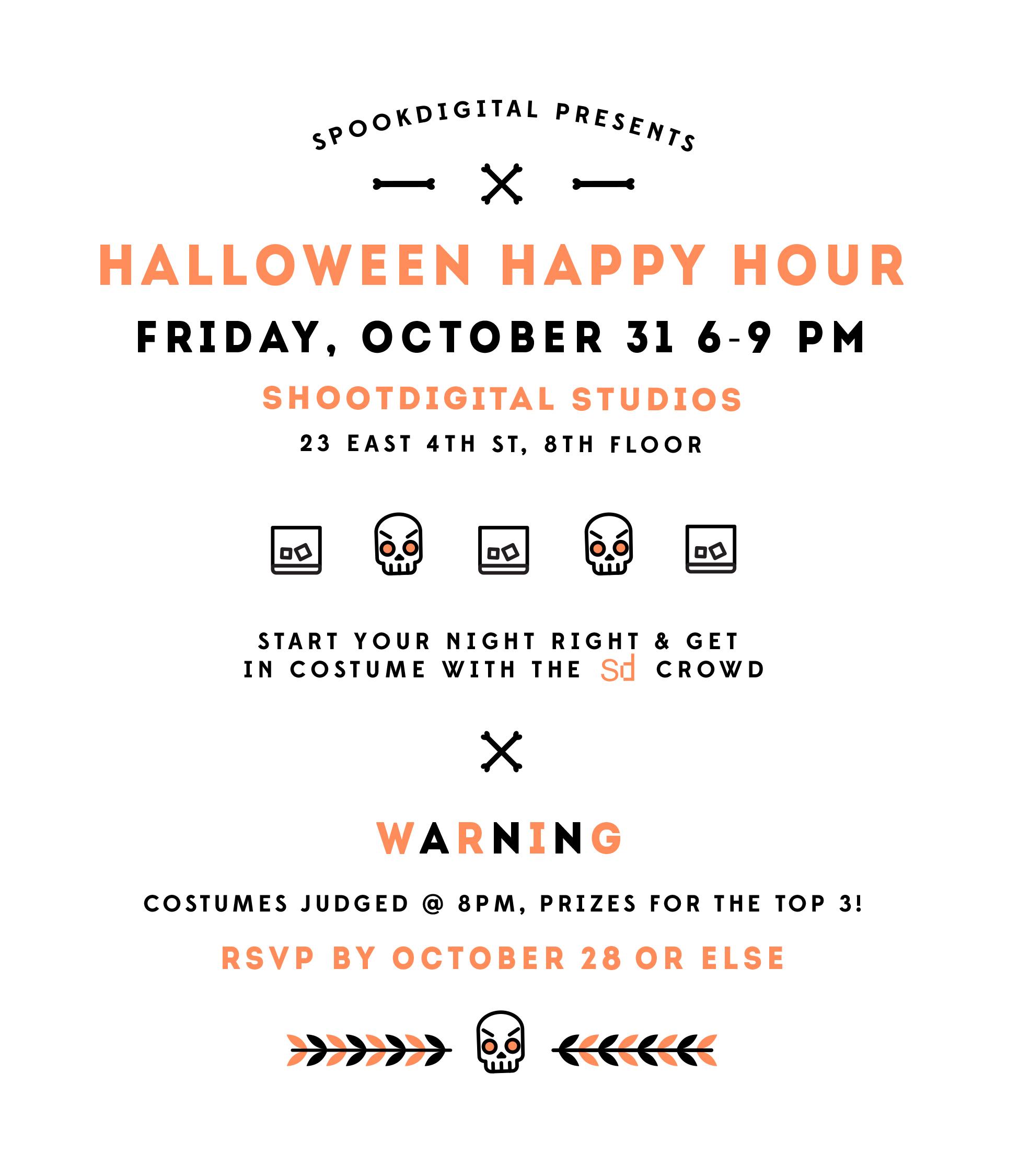 Invitation designed for  shootdigital