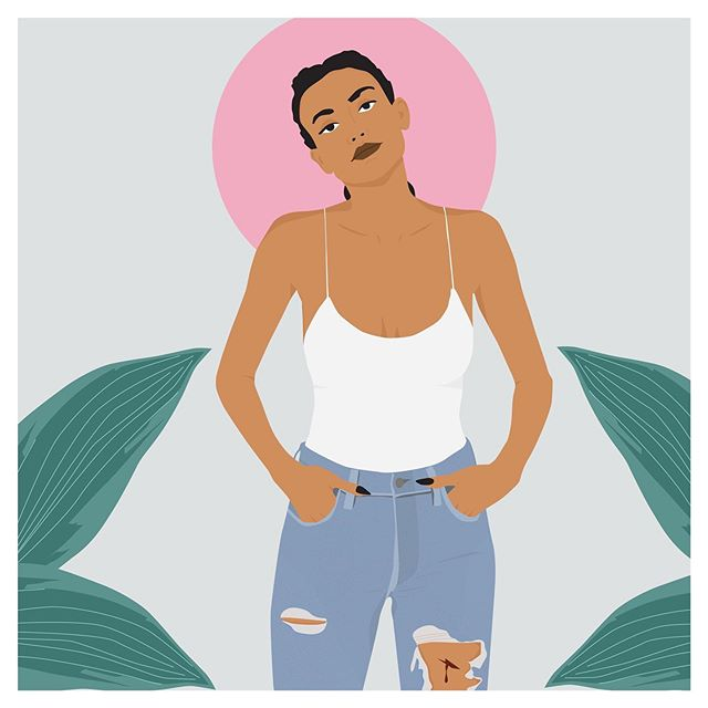 ✖️ I D G A F ✖️ #EmmaDarvickillustration ⠀⠀⠀⠀⠀⠀⠀⠀⠀ ⠀⠀⠀⠀⠀⠀⠀⠀⠀ ⠀⠀⠀⠀⠀⠀⠀⠀⠀ #illustration #art #design #digitalillustration #artist #design #illustrator #digitalillutrator #idgaf #nyc