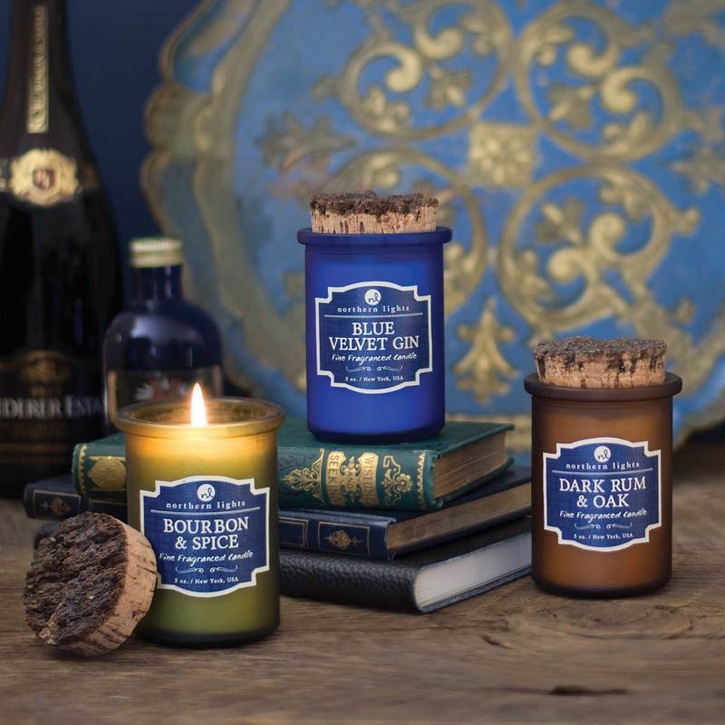 New Fragrances  - Blue Velvet GinBourbon & SpiceDark Rum & Oak