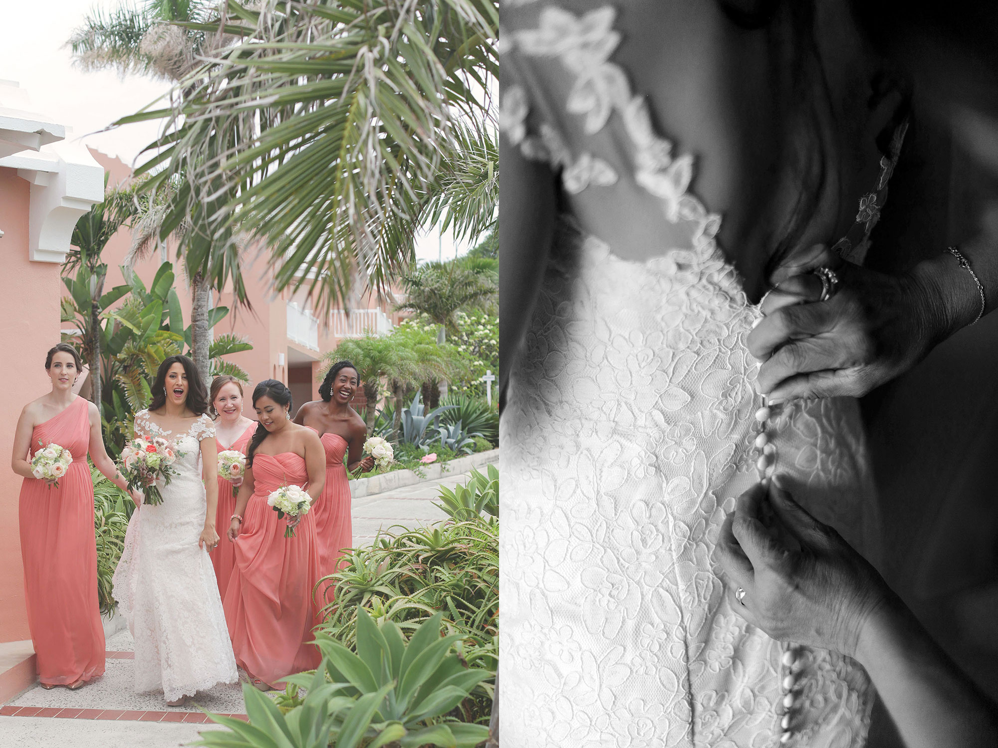 Bermuda wedding photographer desitnation photography marriage bride groom Reefs love Hamilton St Georges