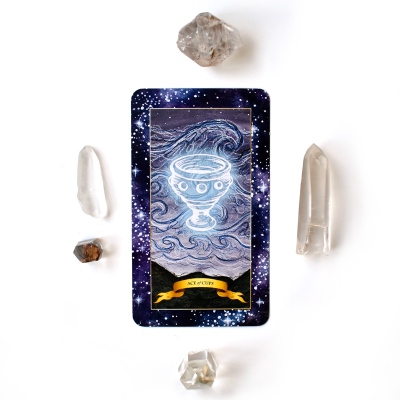 Tarot Card Meanings - Ace of Cups