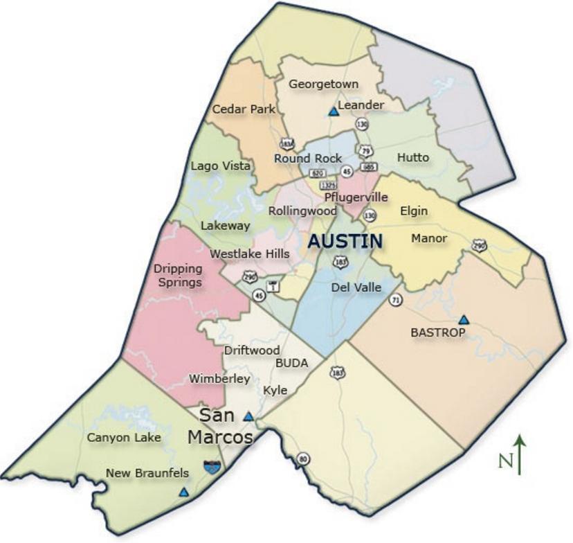 Central Texas Service Area
