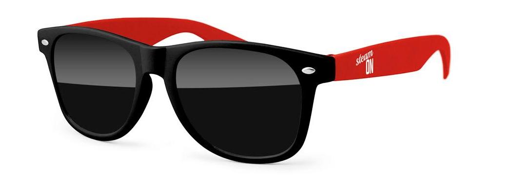 The Steam Team Austin, Texas Official Sun Glasses