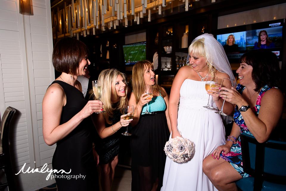 Boca raton wedding party photography