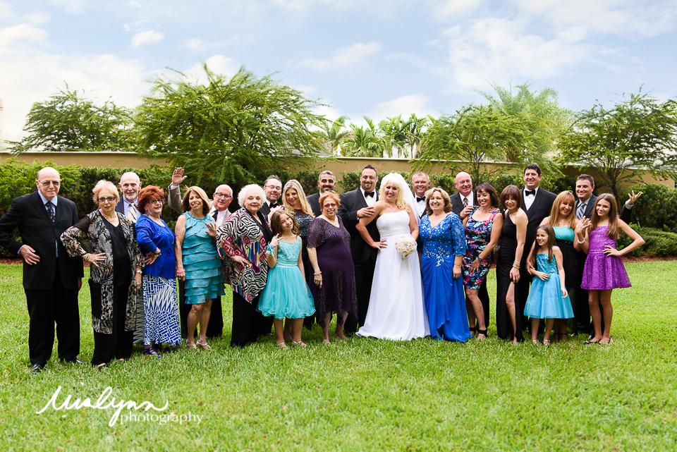 Boca Raton Family Wedding