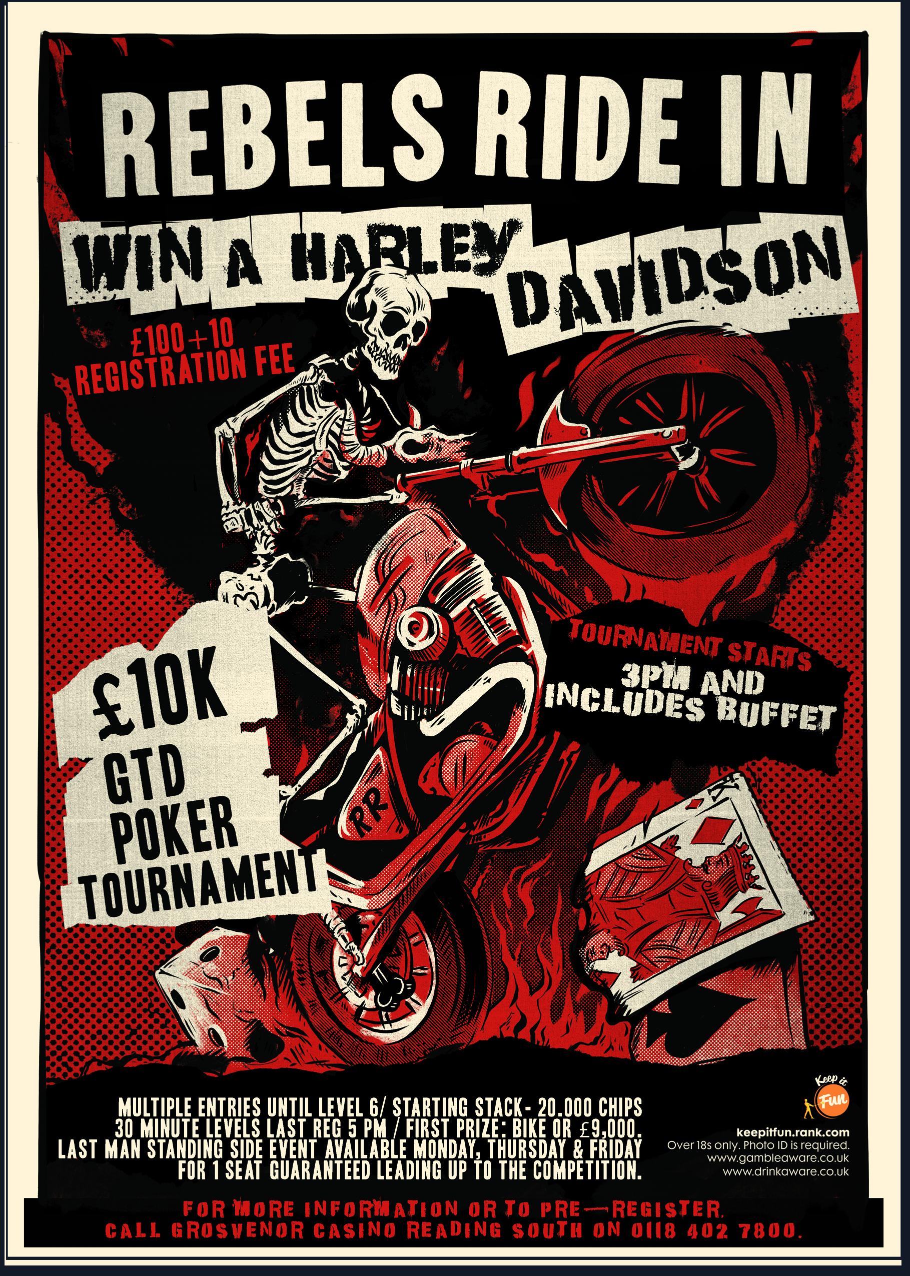Win a Harley-Davidson