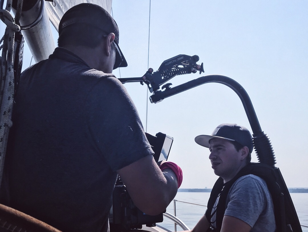 """""""The Hatch"""" director Zach Daulton gearing up to shoot the final scenes of our Cleveland entry."""