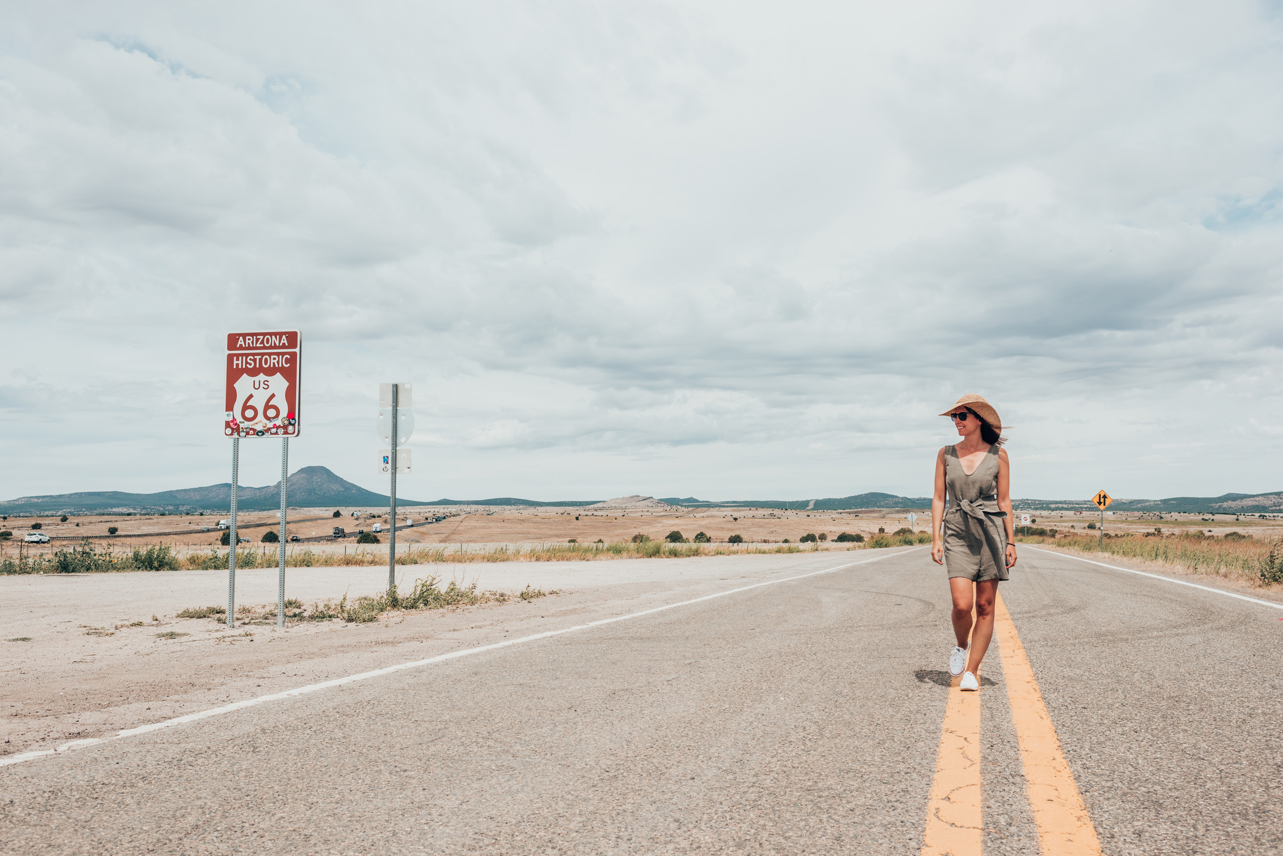 ROUTE 66 - ON THE WAY HOME