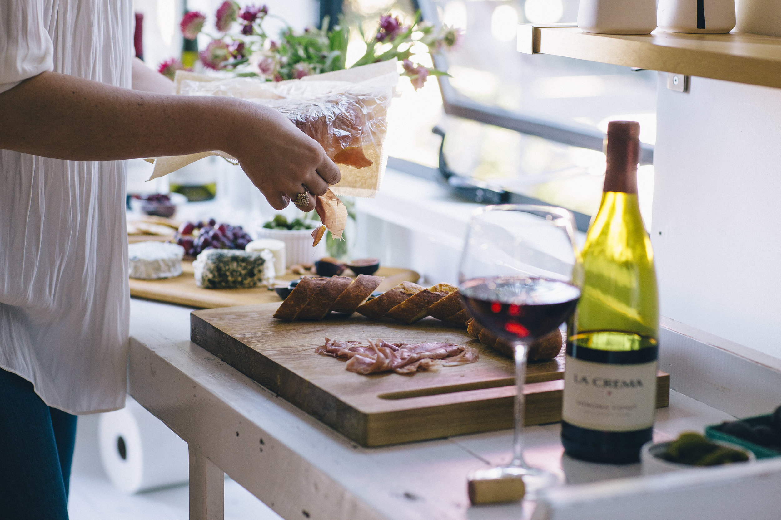 How to host a Wine & Cheese gathering while traveling — The