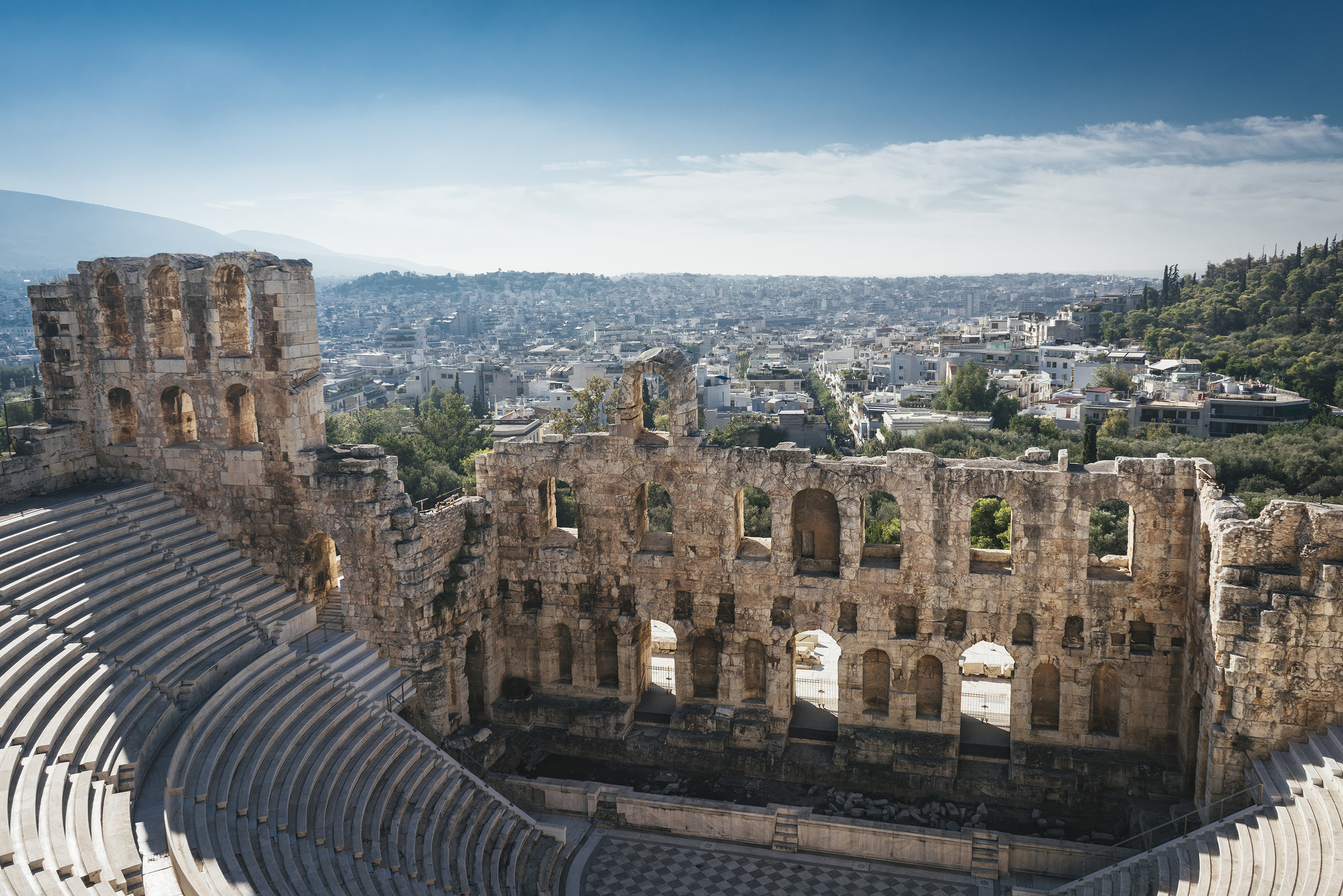 The Odeon of Herodes, Athens, Greece