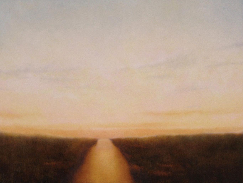 """Marshlands II. Oil on linen, 30"""" x 40"""""""