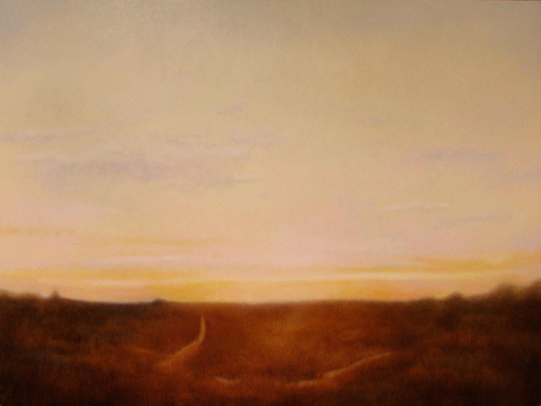 """Marshlands I. Oil on linen, 30"""" x 40"""""""