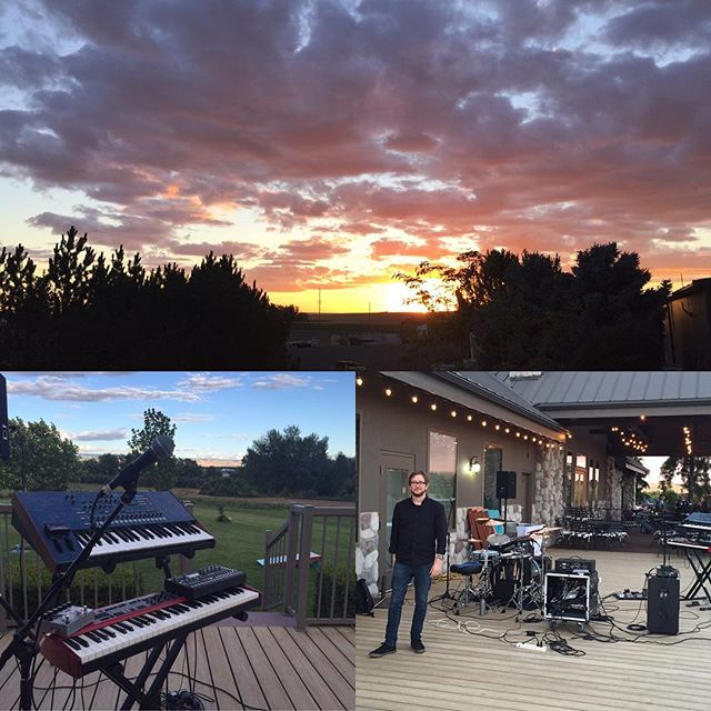 Show 90 - 6/24 - Three Rivers Winery - Walla Walla, WA. We played for quiet people seated at reserved tables. Enjoyed some awesome wine and a crazy view. #threeriverswinery #wine #goodlisteners #vineyard #grapes #thereceiver #thereceivermusic