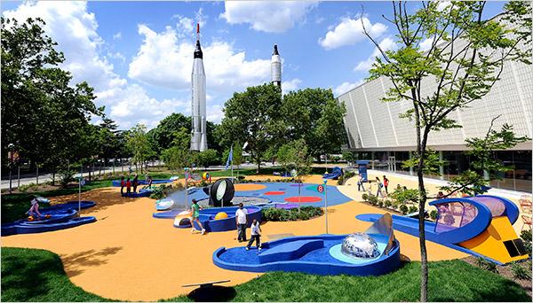 Hall of Science rocket park