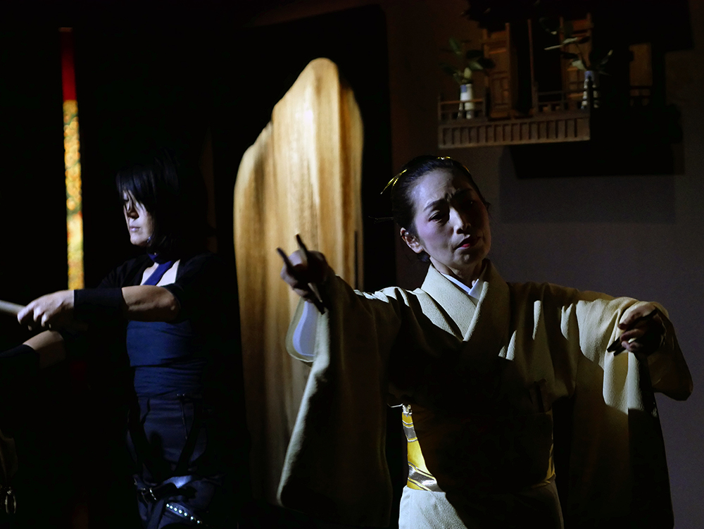 Iwato - Nori Kajio (Taiko) & Yûkô Fujima (Nihon Buyô)Galerie Da-End, 13.09.2018