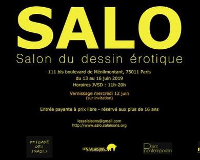 © Salon du dessin érotique