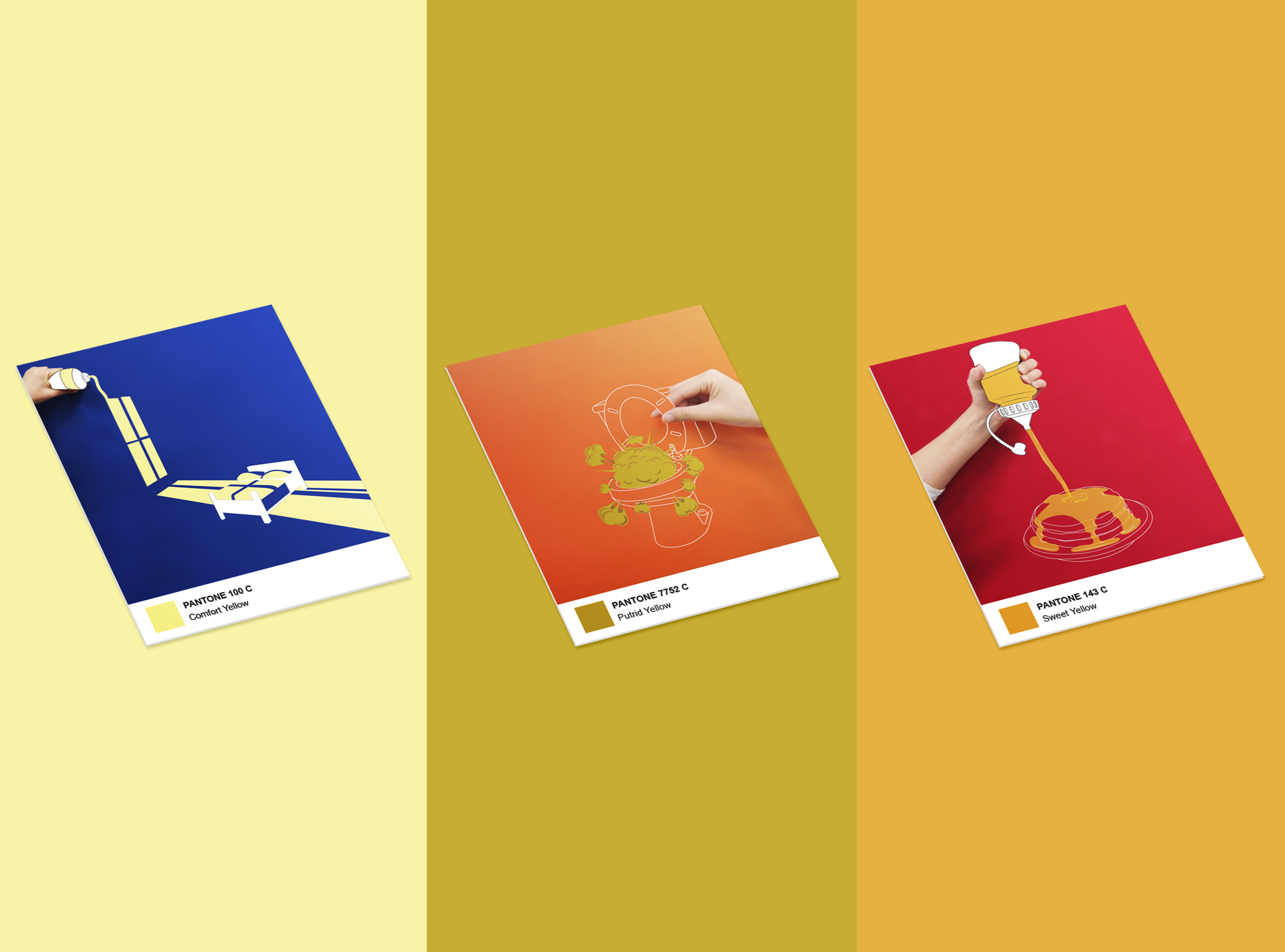 Poster Design Yellow Color Experiment Hye Ryeong Shin,Delta Airlines Baggage Fees Military Dependents