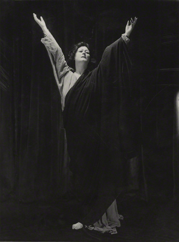 Isadora Duncan by Bertram Park, 1921