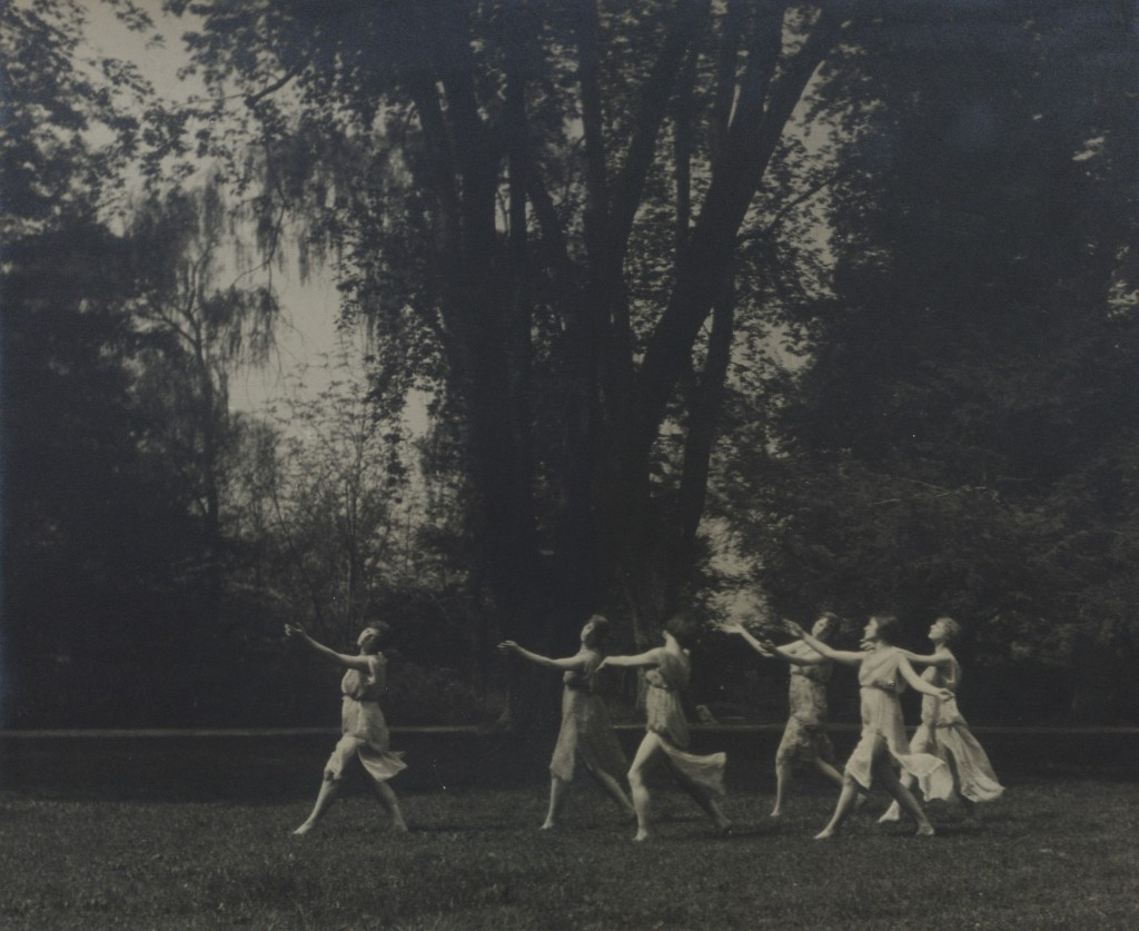 Isadora Duncan's dances by Arnold Genthe, 1919