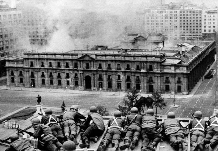 Chilean  coup d'état, 1973