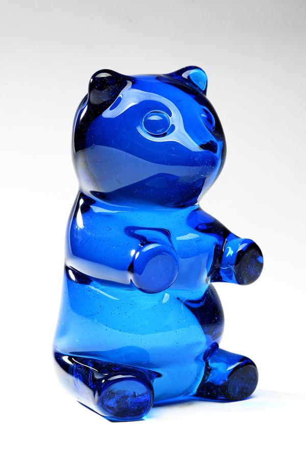 2009  Hand-blow glass