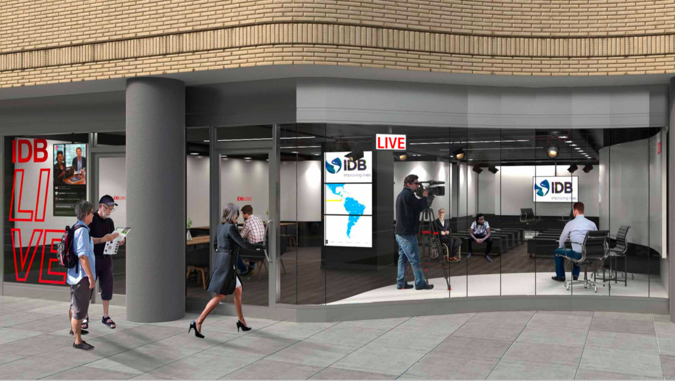 2017  Visitor Center concept for Bank