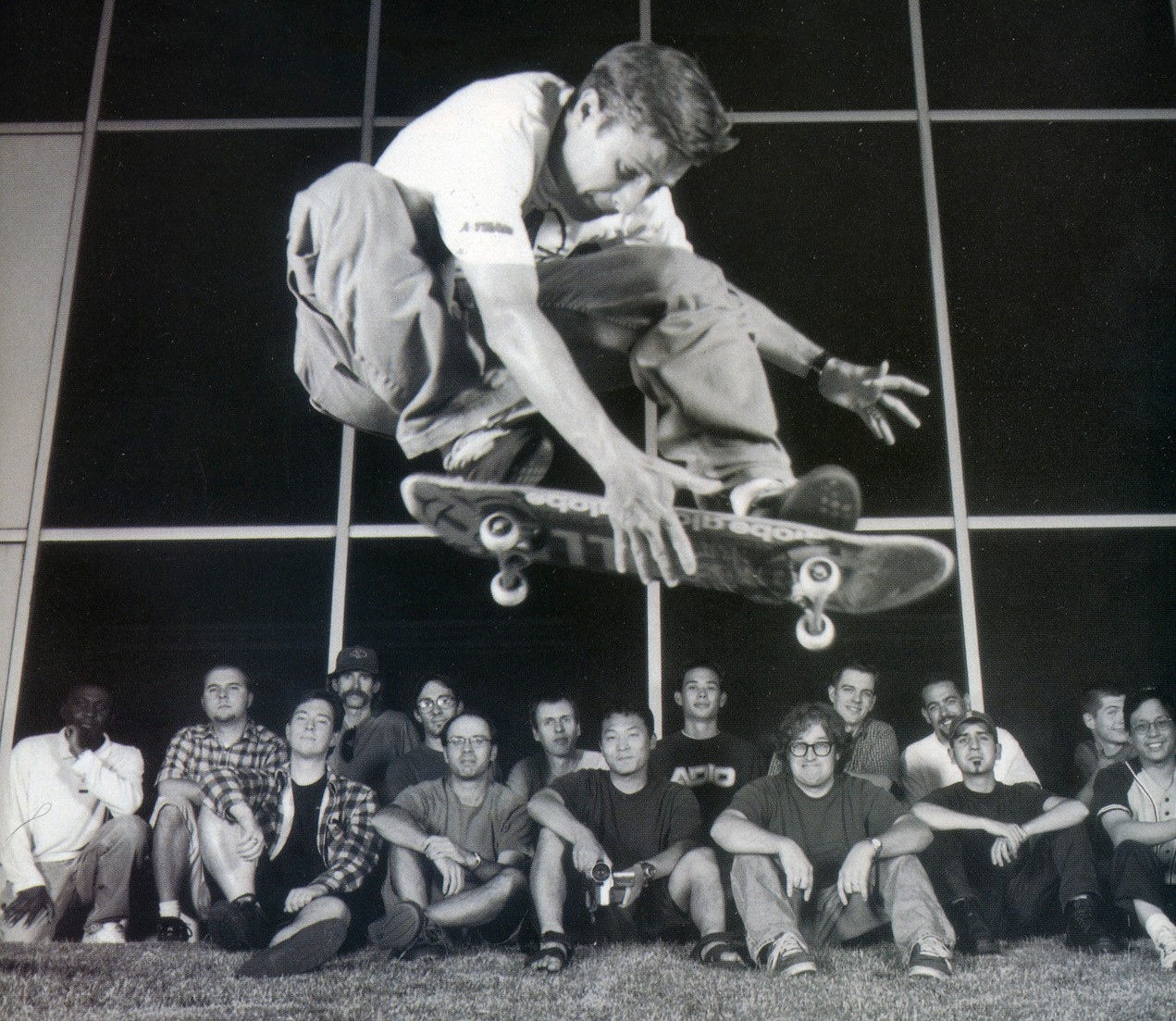 THPS2 Team Photo with Rodney Mullen