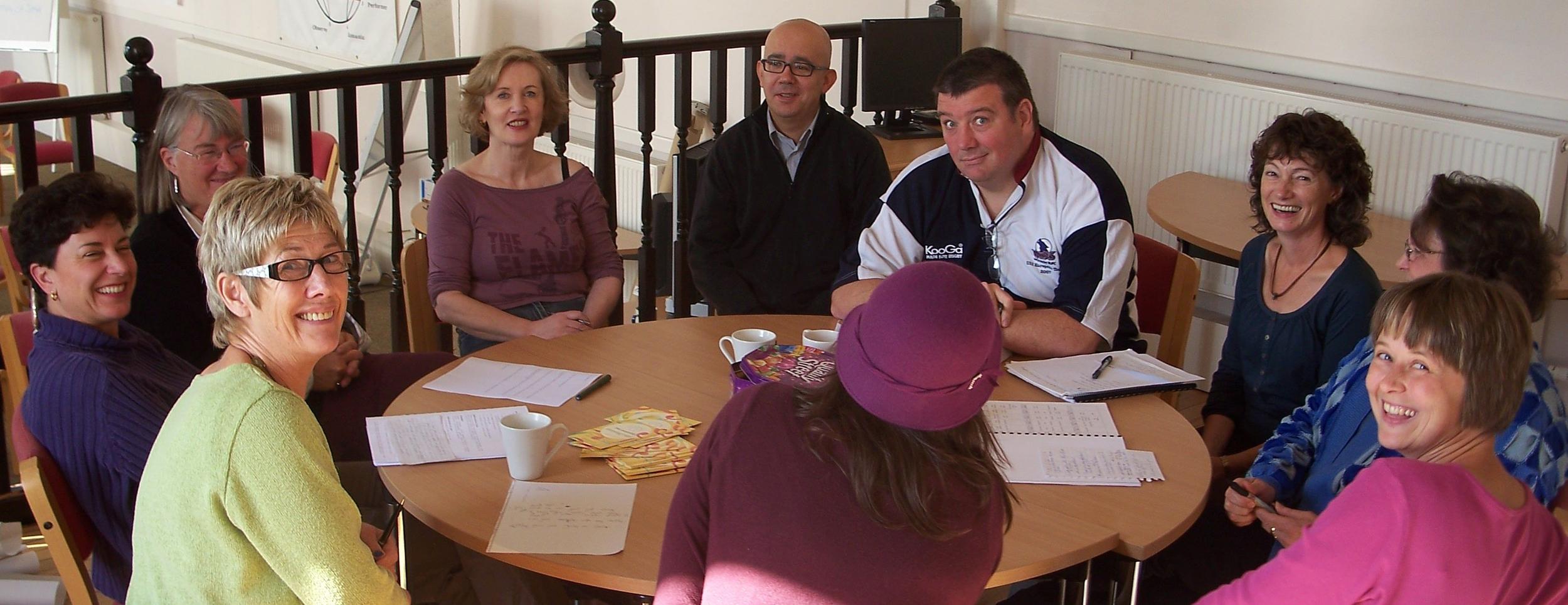 Participants in Bristol Enneagram Professional Training Program.