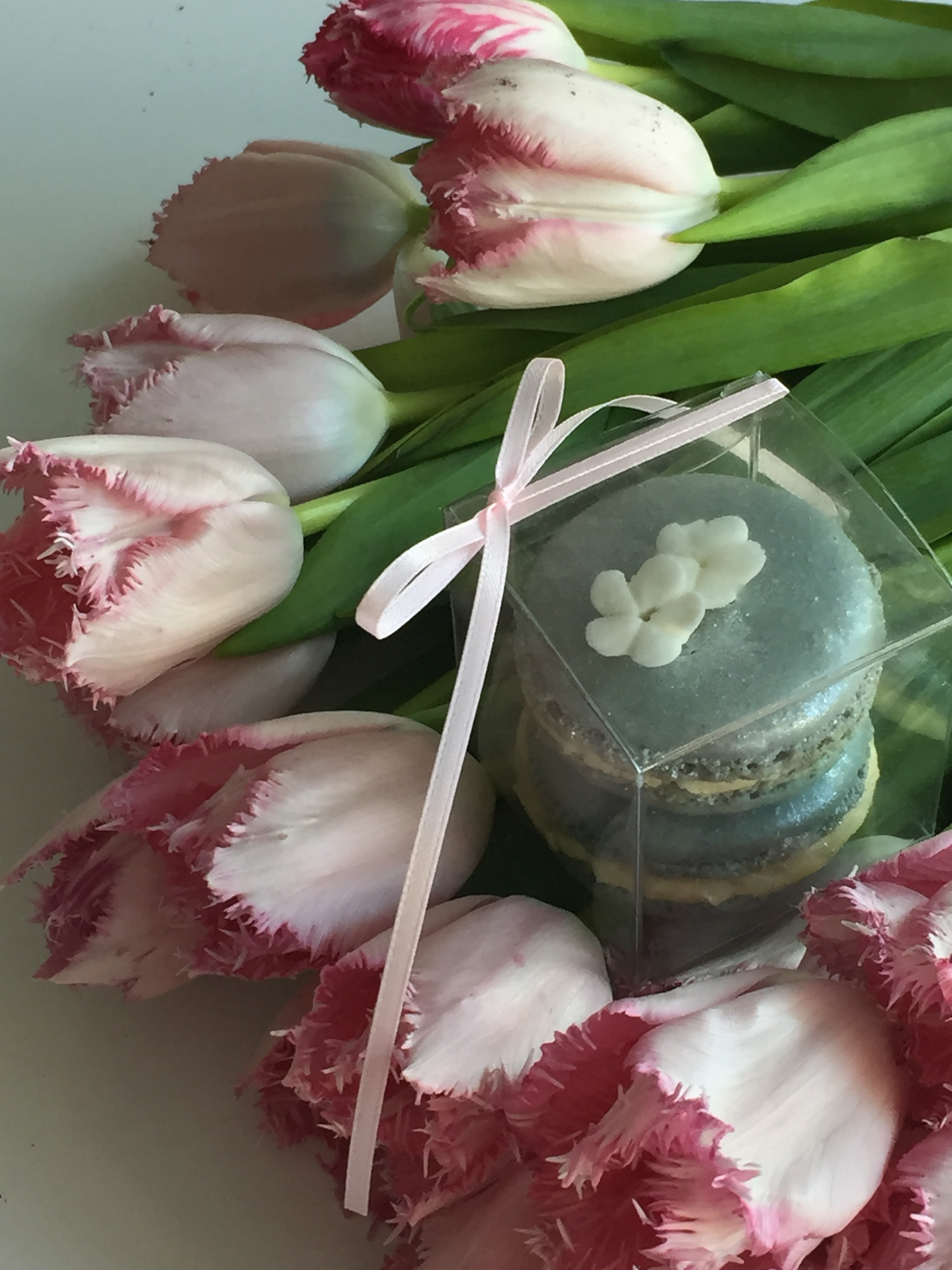 Macaron Favors. Quintessential summer elegance. As shown $6.50.