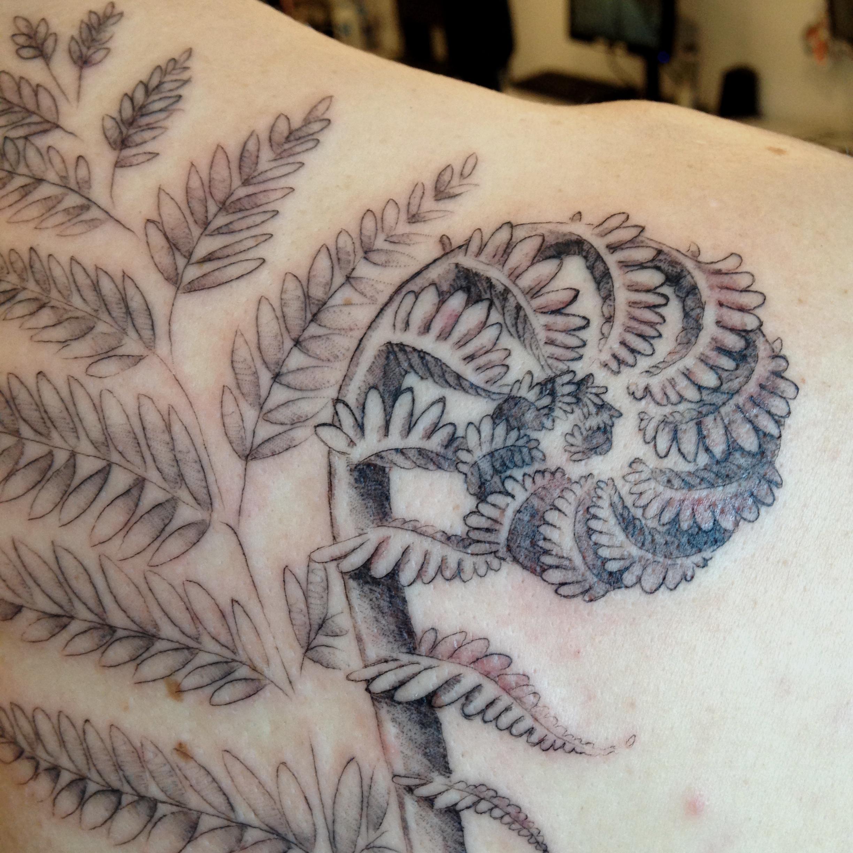 fine line single needle Justin Turkus Philadelphia best tattoo artist detail fiddlehead.jpg
